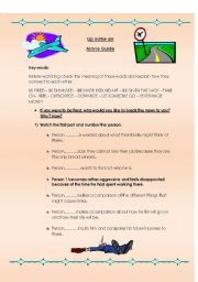 English Worksheet: Up in the air - Movie guide - Part 1