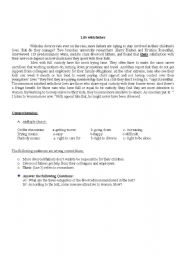 English worksheet: Life with Father