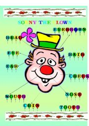English Worksheets: Sonny the clown