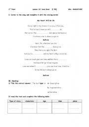 lesson- 12 (1st form)