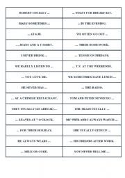 English Worksheets: Adverbs of Frequency - How Often ?
