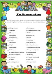 English Worksheets: Inferencing Atmosphere