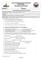 First aid worksheets for highschool students