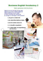 Business English Vocabulary 2