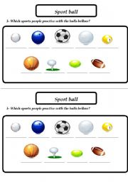sports ball esl worksheet by patrizzia. Black Bedroom Furniture Sets. Home Design Ideas