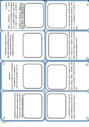 English Worksheet: Computer Parts Mini Book