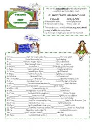 English Worksheet: FIRST CONDITIONAL(2 PAGES)