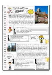English Worksheets: Talking About Life