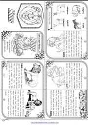 English Worksheets: Let´s Learn About Lions  [ Elementary / Minibook ]