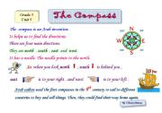 English Worksheets: The Compass