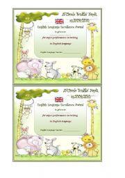 English Worksheets: award