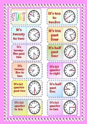 English Worksheet: Graminoes Part 1/3 - Telling Time.