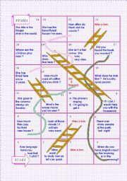 Snakes and ladders nº 3 : Find mistakes