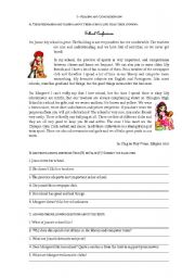 English Worksheet: 7th grade test - school