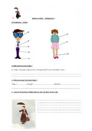 Mary Poppins worksheet n°5