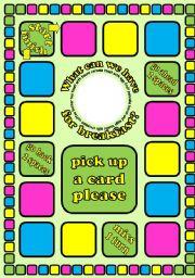 English worksheet: 3 board game templates (small, medium and big)