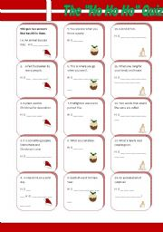 English Worksheets: The