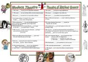English Worksheet: Theatre of Ancient Greece