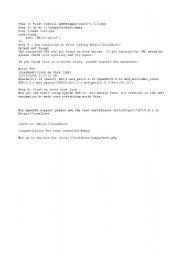 English Worksheets: PHP LANGUAGE