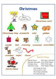English worksheets: Christmas worksheets, page 271