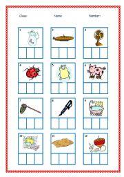 math worksheet : english teaching worksheets phonics : Cvc Kindergarten Worksheets