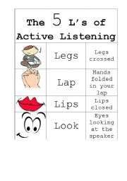 Active Listening Skills Worksheets Worksheets for all | Download ...