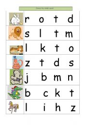 Worksheets Initial Sound Worksheets english teaching worksheets initial sounds choose the sound
