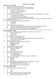 Guess The Christmas Carol Worksheet.Christmas Carols Worksheets