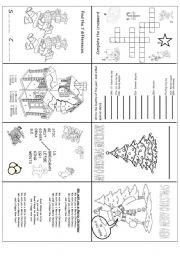 English teaching worksheets Christmas