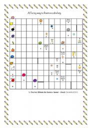 English worksheet: Puzzle