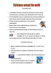 Christmas Around the World Italy and Australia