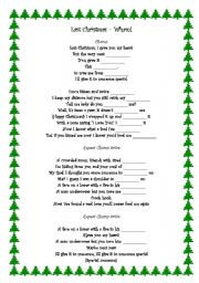 last christmas wham - Wham Last Christmas Lyrics