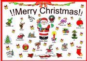 Christmas wall poster