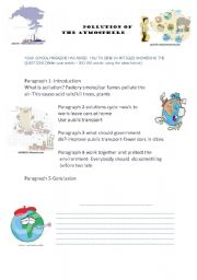 AIR POLLUTION | science | Pinterest | Air pollution, Worksheets ...