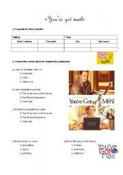 DVD Worksheet - You´ve got mail