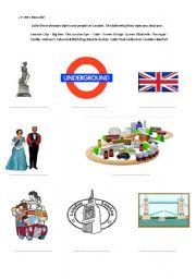 English Worksheets: British sights