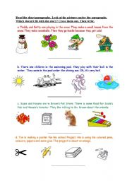 English Worksheets: Critical Thinking