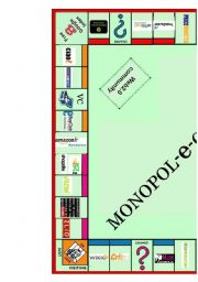 English Worksheet: Monopoly to practice first conditional