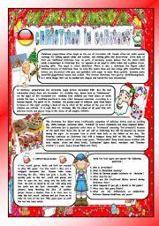 CHRISTMAS AROUND THE WORLD  PART 8  GERMANY BW VERSION