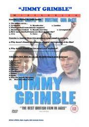 English Worksheets: Jimmy Grimble