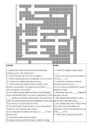 Dead Poets Society: Crossword Puzzle