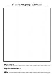English Worksheets: Free drawing