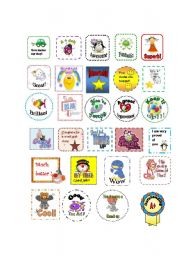 English Worksheets: Awards (Editable)