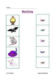 Cvc E Worksheet 1
