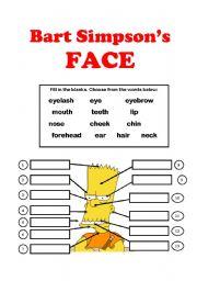Bart Simpson´s FACE