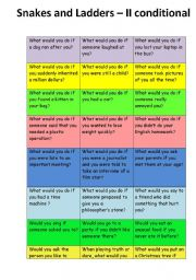 English Worksheet: 2 conditional - game cards