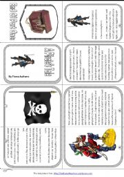English Worksheet: A Pirate´s Tale
