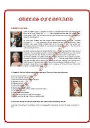 English Worksheets: Elizabeth II