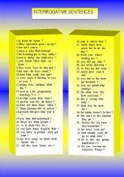 Word Order.Interrogative Sentences. (2/2)