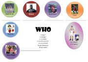 English Worksheets: WHO question